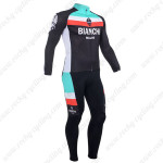 2013 Team BIANCHI Cycling Kit Long Sleeve
