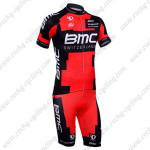 2013 Team BMC Cycling Kit Red Black