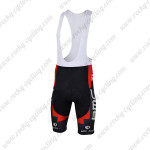 2013 Team BMC Pro Cycling Bib Shorts Black Red