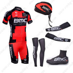2013 Team BMC Pro Cycling Set Red Black