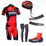2013 Team BMC Pro Riding Set Red Black