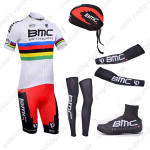 2013 Team BMC UCI Pro Cycling Set White Rainbow