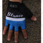 2013 Team Blanco Cycling Gloves Mitts Black Blue