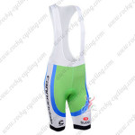 2013 Team CANNONDALE Cycling Bib Shorts Green