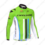 2013 Team CANNONDALE Pro Cycling Long Sleeve Jersey Green2013 Team CANNONDALE Pro Cycling Long Sleeve Jersey Green