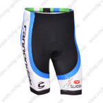 2013 Team CANNONDALE Pro Cycling Shorts Black White