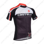 2013 Team CASTELLI Cycle Jersey Black