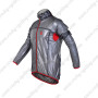 2013 Team CASTELLI Cycle Windbreaker Raincoat Black