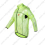 2013 Team CASTELLI Cycle Windbreaker Raincoat Green