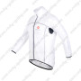 2013 Team CASTELLI Cycle Windbreaker Raincoat White