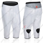 2013 Team CASTELLI Cycling Rain-proof pants White Waterproof