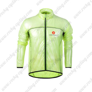 2013 Team CASTELLI Cycling Windbreaker Green Waterproof