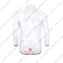 2013 Team CASTELLI Cycling Windbreaker White Anti-UV2013 Team CASTELLI Cycling Windbreaker White Anti-UV