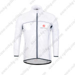 2013 Team CASTELLI Cycling Windbreaker White Waterproof