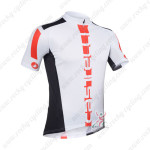 2013 Team CASTELLI Pro Bike Jersey White and Black