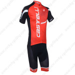 2013 Team CASTELLI Pro Bike Kit Red