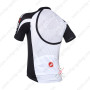 2013 Team CASTELLI Pro Cycling Jersey Black Letter