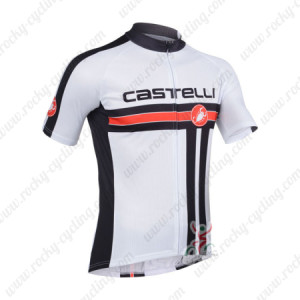 2013 Team CASTELLI Pro Cycling Jersey White