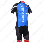 2013 Team CASTELLI Pro Cycling Kit Blue