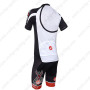 2013 Team CASTELLI Pro Cycling Kit White Black