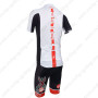 2013 Team CASTELLI Pro Cycling Kit White and Black