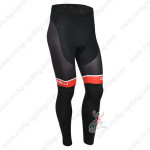 2013 Team CASTELLI Pro Cycling Long Pants Black Red