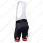 2013 Team CASTELLI Riding Bib Shorts Black