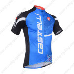 2013 Team CASTELLI Road Bike Jersey Blue