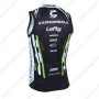 2013 Team Cannondale Bicycle Vest Tank Top Jersey Black