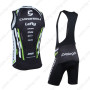 2013 Team Cannondale Cycle Vest Tank Top Jersey Bib Kit Black