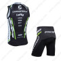 2013 Team Cannondale Cycle Vest Tank Top Jersey Kit Black