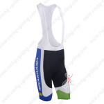 2013 Team Cannondale Cycling Bib Shorts Blue White