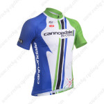 2013 Team Cannondale Cycling Jersey Blue White