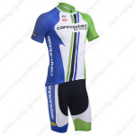 2013 Team Cannondale Cycling Kit Blue White