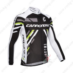 2013 Team Cannondale Cycling Long Jersey Black