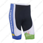 2013 Team Cannondale Cycling Shorts Blue White