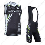 2013 Team Cannondale Cycling Vest Sleeveless Bib Kit Black