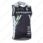 2013 Team Cannondale Cycling Vest Sleeveless Jersey Black