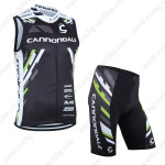 2013 Team Cannondale Cycling Vest Sleeveless Kit Black