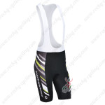 2013 Team Cannondale Pro Cycle Bib Shorts Black