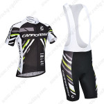 2013 Team Cannondale Pro Cycling Bib Kit Black