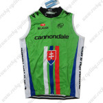 2013 Team Cannondale Slovakia Champion Cycling Sleeveless Jersey