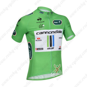 2013 Team Cannondale Tour de France Cycling Green Jersey