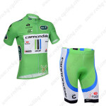 2013 Team Cannondale Tour de France Cycling Shorts Kit Green