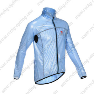 2013 Team Castelli Cycling Windbreaker Blue