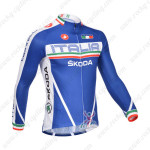 2013 Team Castelli ITALIA Pro Cycling Long Sleeve Jersey
