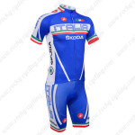 2013 Team Castelli ITALIA SKODA Cycling Kit