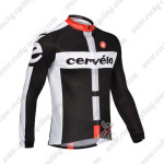 2013 Team Cervelo Cycling Long Jersey Black