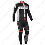 2013 Team Cervelo Cycling Long Kit Black