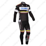 2013 Team Colombia Pro Bike Long Kit